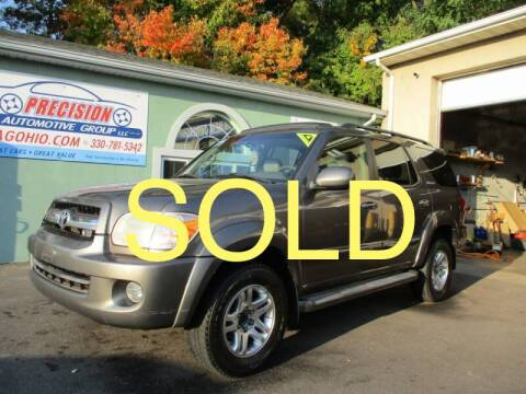 2006 Toyota Sequoia for sale at Precision Automotive Group in Youngstown OH