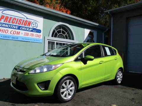 2012 Ford Fiesta for sale at Precision Automotive Group in Youngstown OH