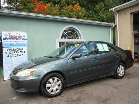 2004 Toyota Camry for sale at Precision Automotive Group in Youngstown OH