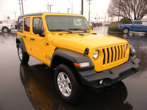 2020 Jeep Wrangler Unlimited for sale in Hutchinson, KS