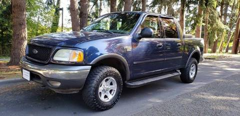 2002 Ford F-150 for sale in Milwaukie, OR