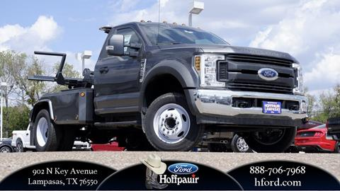 2018 Ford F-450 Super Duty for sale in Lampasas, TX