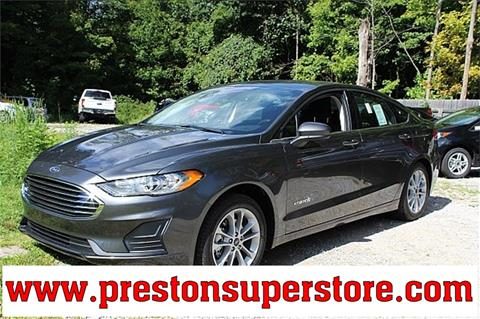 2019 Ford Fusion Hybrid for sale in Burton, OH