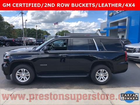 2018 Chevrolet Tahoe for sale in Burton, OH