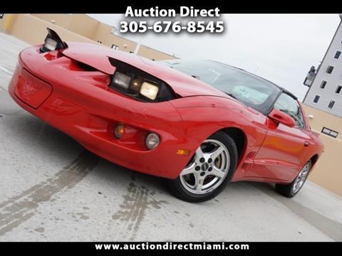 2001 Pontiac Firebird for sale in Miami, FL