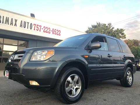 2006 Honda Pilot for sale at Trimax Auto Group in Baltimore MD