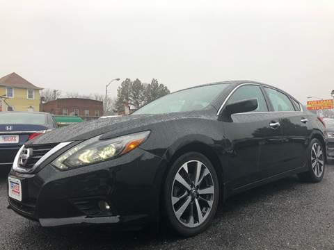 2017 Nissan Altima for sale at Trimax Auto Group in Baltimore MD