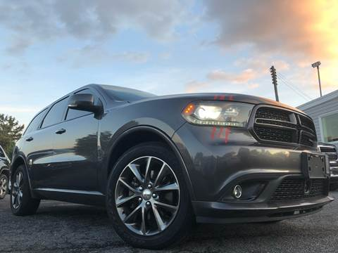 2014 Dodge Durango for sale at Trimax Auto Group in Baltimore MD