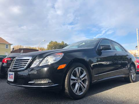 2011 Mercedes-Benz E-Class for sale at Trimax Auto Group in Baltimore MD