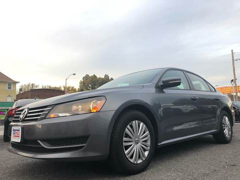 2014 Volkswagen Passat for sale at Trimax Auto Group in Baltimore MD