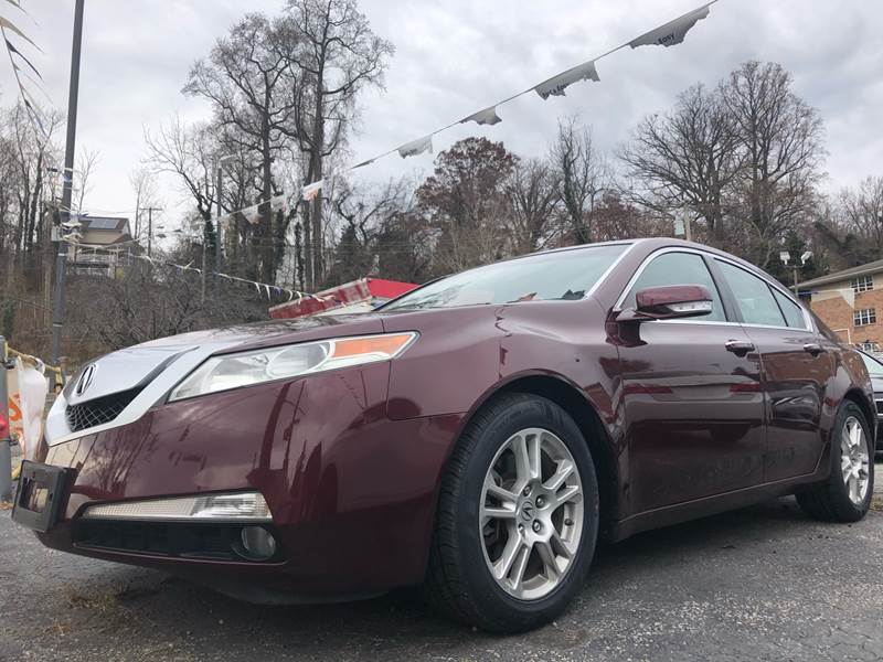 2010 Acura TL for sale at Trimax Auto Group in Baltimore MD
