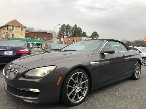 2012 BMW 6 Series for sale at Trimax Auto Group in Baltimore MD