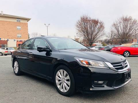 2015 Honda Accord for sale at Trimax Auto Group in Baltimore MD