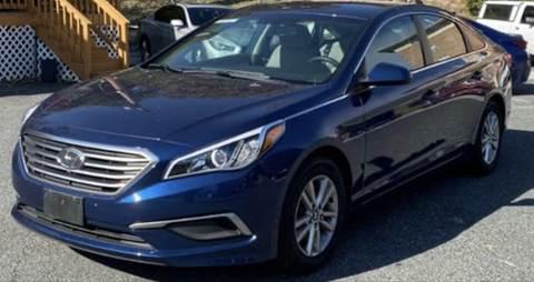 2017 Hyundai Sonata for sale at Trimax Auto Group in Baltimore MD
