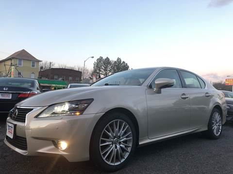 2013 Lexus GS 350 for sale at Trimax Auto Group in Baltimore MD