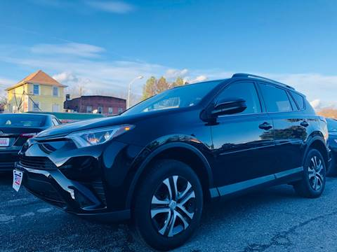 2017 Toyota RAV4 for sale at Trimax Auto Group in Baltimore MD