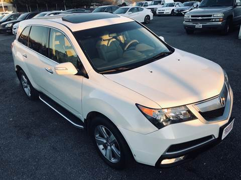 2012 Acura MDX for sale at Trimax Auto Group in Baltimore MD