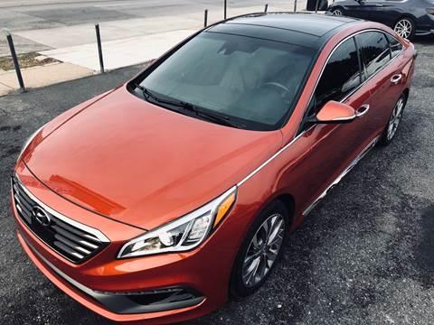 2015 Hyundai Sonata for sale at Trimax Auto Group in Baltimore MD