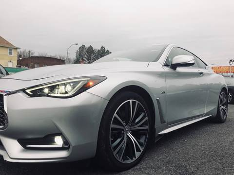 2017 Infiniti Q60 for sale at Trimax Auto Group in Baltimore MD