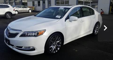 2017 Acura RLX for sale at Trimax Auto Group in Baltimore MD