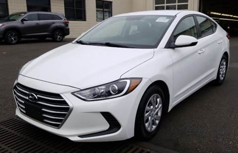 2017 Hyundai Elantra for sale at Trimax Auto Group in Baltimore MD