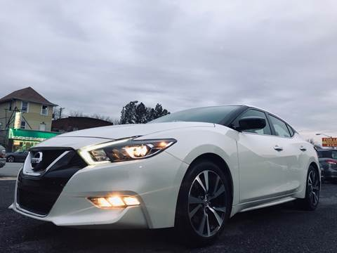 2017 Nissan Maxima for sale at Trimax Auto Group in Baltimore MD
