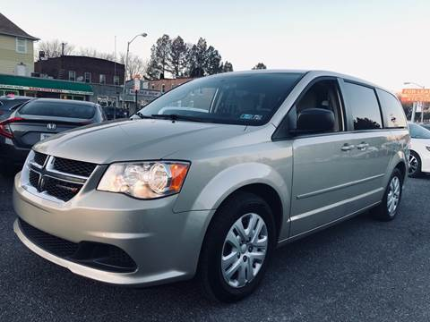 2015 Dodge Grand Caravan for sale at Trimax Auto Group in Baltimore MD