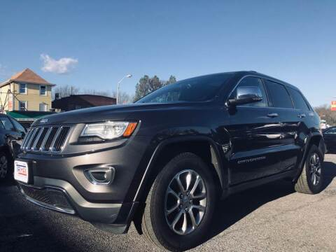 2015 Jeep Grand Cherokee for sale at Trimax Auto Group in Baltimore MD