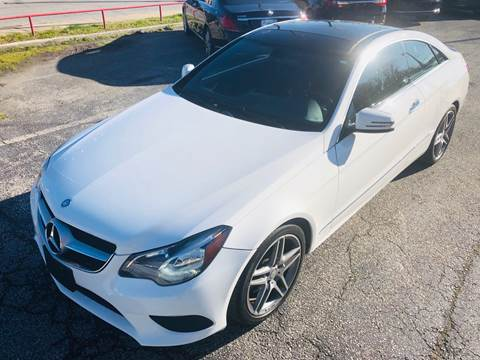 2014 Mercedes-Benz E-Class for sale at Trimax Auto Group in Baltimore MD