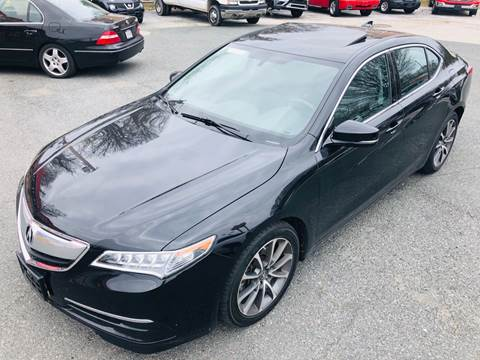 2015 Acura TLX for sale at Trimax Auto Group in Baltimore MD