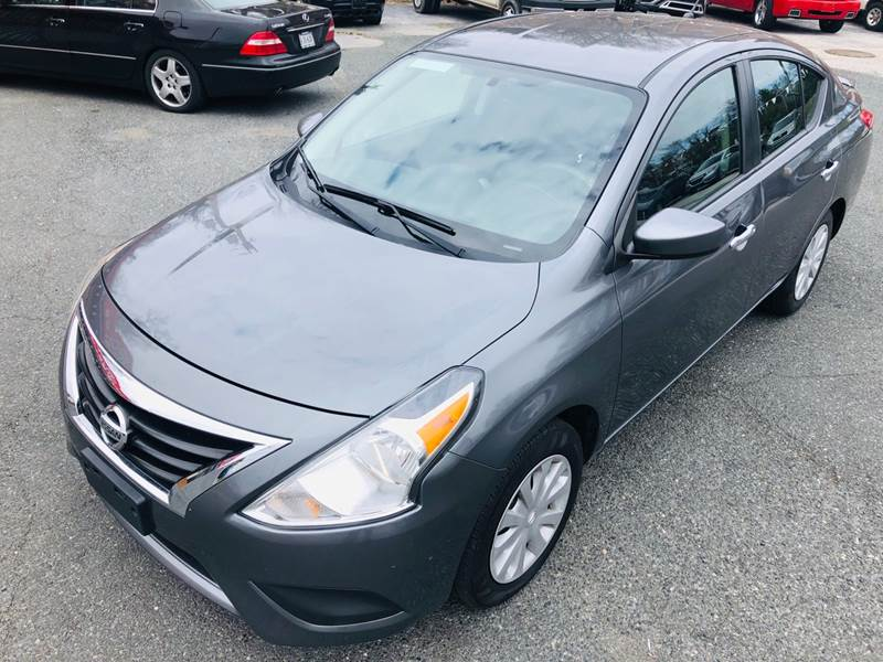2018 Nissan Versa for sale at Trimax Auto Group in Baltimore MD