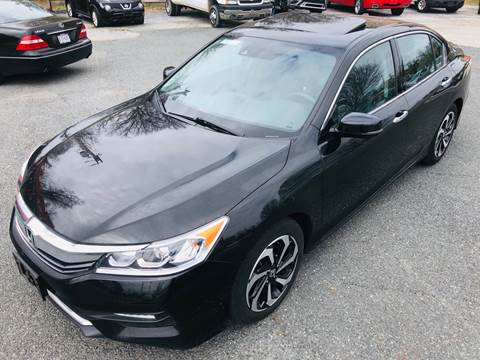 2016 Honda Accord for sale at Trimax Auto Group in Baltimore MD