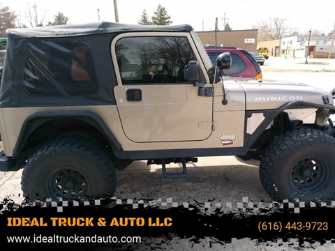 2005 Jeep Wrangler for sale in Coopersville, MI
