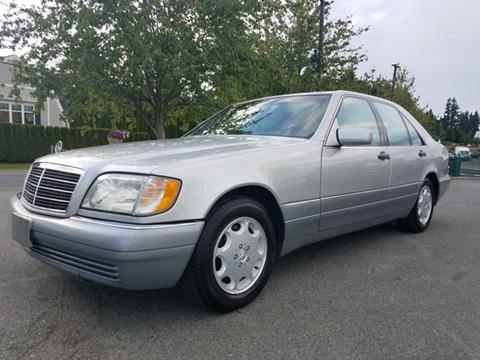 1996 Mercedes Benz S Class For Sale In Lynnwood Wa