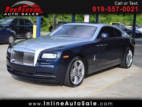 2015 Rolls-Royce Wraith for sale in Fuquay Varina, NC