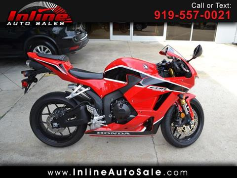 2017 Honda CBR600RR for sale in Fuquay Varina, NC