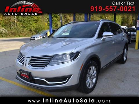 2017 Lincoln MKX for sale in Fuquay Varina, NC