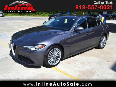 2017 Alfa Romeo Giulia for sale at Inline Auto Sales in Fuquay Varina NC