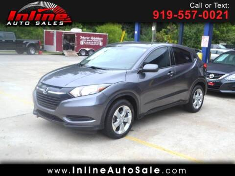 2016 Honda HR-V for sale at Inline Auto Sales in Fuquay Varina NC