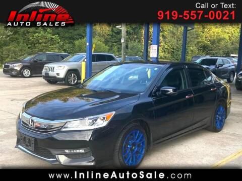 2016 Honda Accord for sale at Inline Auto Sales in Fuquay Varina NC