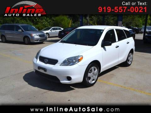 2006 Toyota Matrix for sale at Inline Auto Sales in Fuquay Varina NC