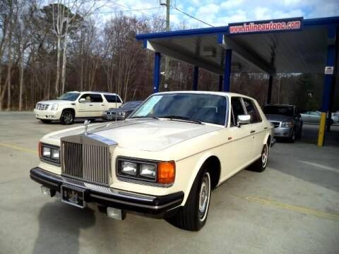 1981 Rolls-Royce Silver Spirit for sale at Inline Auto Sales in Fuquay Varina NC