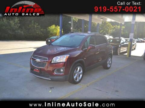 2016 Chevrolet Trax for sale at Inline Auto Sales in Fuquay Varina NC