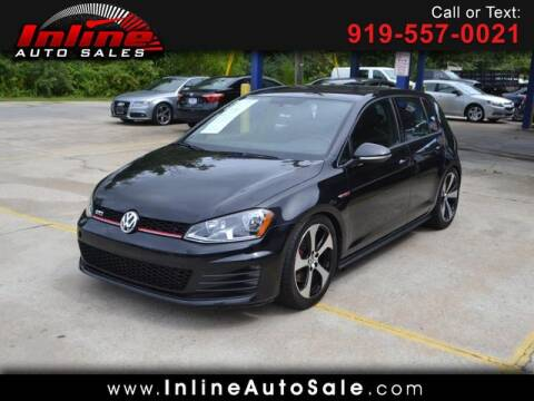 2017 Volkswagen Golf GTI for sale at Inline Auto Sales in Fuquay Varina NC