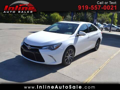 2017 Toyota Camry for sale at Inline Auto Sales in Fuquay Varina NC