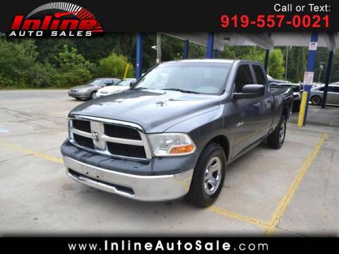 2010 Dodge Ram Pickup 1500 for sale at Inline Auto Sales in Fuquay Varina NC