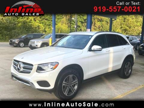 2018 Mercedes-Benz GLC for sale at Inline Auto Sales in Fuquay Varina NC