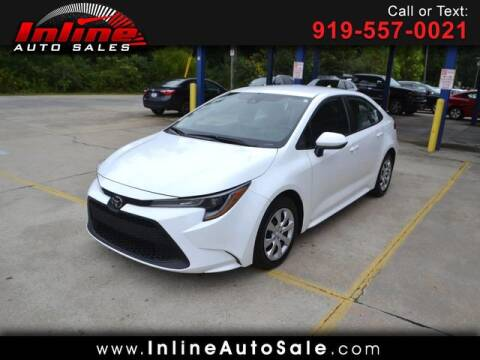 2020 Toyota Corolla for sale at Inline Auto Sales in Fuquay Varina NC