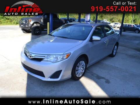 2012 Toyota Camry for sale at Inline Auto Sales in Fuquay Varina NC