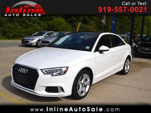 2017 Audi A3 for sale at Inline Auto Sales in Fuquay Varina NC